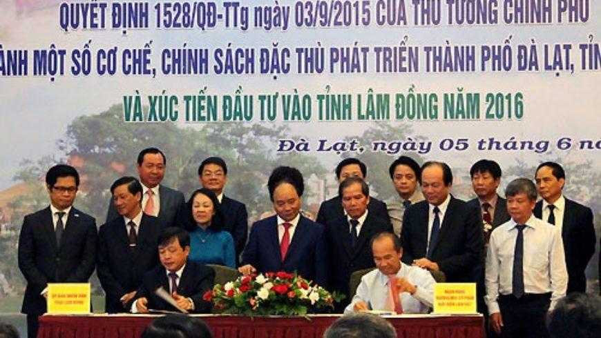 11.000 tỷ cam kết đầu tư vào mắc ca Lâm Đồng